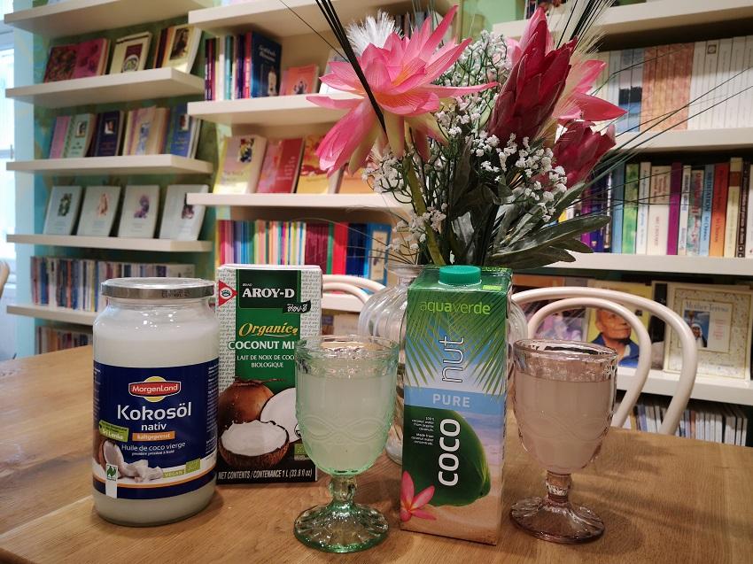 Biologische-Kokosnussprodukte