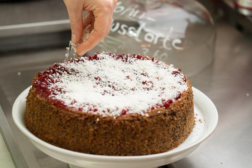 Mohn-Nuss-Torte