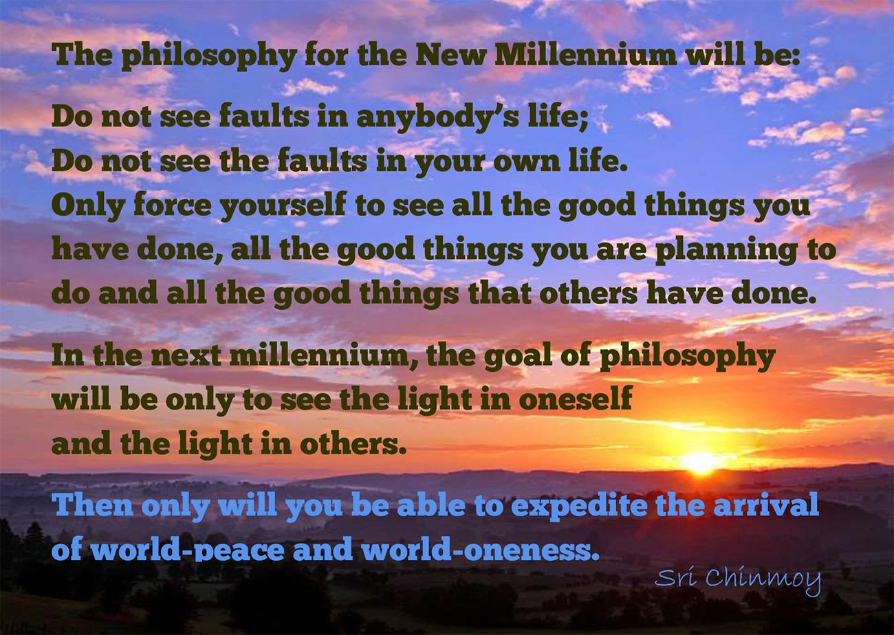 Millennium Message
