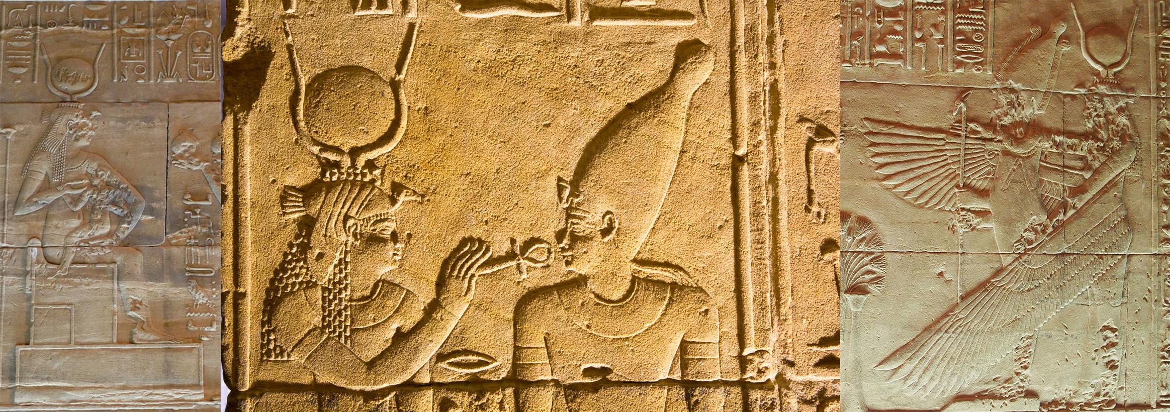 Isistempel-Philae-Reliefs