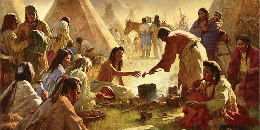 Howard Terpning - Old country buffet